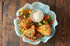 Teriyaki Tuna With Ginger Vegetables Recipes — Dishmaps