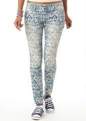 Indigo Tribal Print Skinny Jean