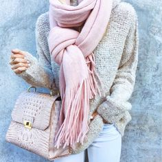 Neutrals and blush pink