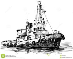 Find Industrial Boat stock images in HD and millions of other royalty-free stock photos, illustrations and vectors in the Shutterstock collection. Thousands of new, high-quality pictures added every day. Boat Drawing, Ship Drawing, Drawing For Kids, Line Drawing, Painting & Drawing, Boat Sketch, Boat Vector, Ship Paintings, Boat Art