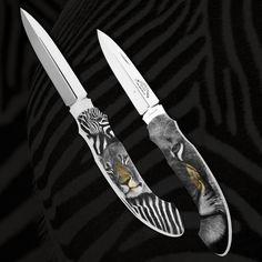 TROMPETER & RITCHI – FINE SCRIMSHAW & GUN ENGRAVING FINE HANDMADE KNIVES - ENGRAVING - RICHARD MAIER - RITCHI MAIER - LUXURY – LEOPARD - LION - ZEBRA – LION FIRE – FIRE & ICE – THUNDER & LIGHTNING
