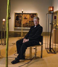 David Lynch by Paul Jasmin