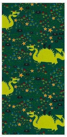 "Dragons Poplin 45"" Print"