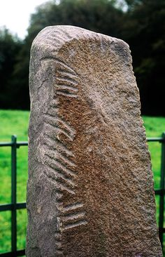 The Story of Ogham | The ancient rune-like writing system is carved into stones across Ireland. - See more at: http://www.historytoday.com/catherine-swift/story-ogham#sthash.wt3jvK0T.dpuf