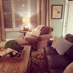 Living room makeover... Sears House Designery