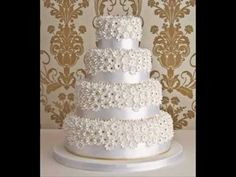 WEDDING CAKE PICTURE GALLERY:  Music by Celine Dion.  I love the music attached to this video.  Great Wedding Day Music.
