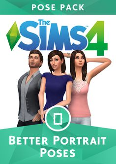 Sims 4 Pics & News — sssvitlans:   The Sims 4 Better Portraits Pose...