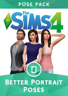Sims 4 Pics & News — sssvitlans:   The Sims 4 Better Portraits Pose...