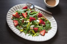 Strawberry & Asparagus Salad on Munchery