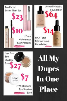 iQ Natural Mineral Makeup Starter Kit Powder Brush, 2 Mineral Foundation Shades, Setting Veil, for Flawless Bare Looking Skin, 4 Piece Full Size Set - Cute Makeup Guide Make Up Dupes, Makeup Revolution, Fixing Spray, Looks Pinterest, Drugstore Makeup Dupes, Elf Dupes, Eyeshadow Dupes, Skincare Dupes, Lipstick Dupes