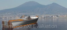"""This picture shows """"Parthenope"""" in a typical Mediterranean environment."""