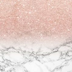 Pink and gold wallpaper modern faux rose gold pink glitter white marble wallpaper by pink wallpaper Rose Gold Glitter Wallpaper, Pink Marble Wallpaper, Glitter Wall Art, Pink Wall Art, Metallic Wallpaper, Rose Wallpaper, Marble Art, White Marble, Marble Duvet Cover
