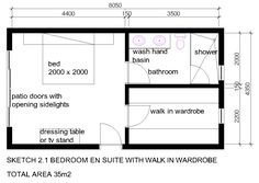 ensuite layout - Google Search