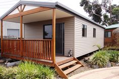 Granny flats and teenage retreats are a self contained home extension that is built on the same block of land that you own. Modern Granny Flat Designs available from Matt's Homes and Outdoor Designs, Bayswater, Melbourne. One, two, three bedroom available, DIY kit form or full installation and permits etc organised by Matt's Homes.