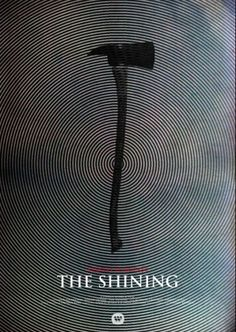 Hitchcock and Kubrick movie posters reimagined- The Shining Horror Movie Posters, Best Movie Posters, Minimal Movie Posters, Cinema Posters, Movie Poster Art, Cool Posters, Horror Movies, Stanley Kubrick, Poster Minimalista