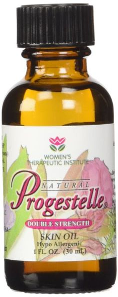 Progestelle Progesterone Oil Purer Than Progesterone Cream, Bioidentical, Natural, Topical - NO Preservatives, NO Fragrance, NO Emulsifiers and Booklet- 1oz 800 mg/oz Double Strength