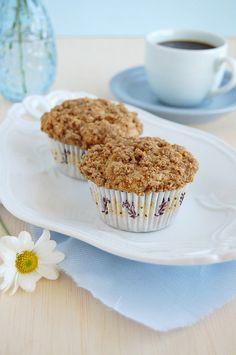 cinnamon crumb muffins.