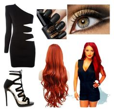 Designer Clothes, Shoes & Bags for Women Wwe Outfits, Wwe Stuff, Eva Marie, Themed Outfits, Balmain, Jimmy Choo, Shoe Bag, Polyvore, How To Wear