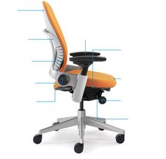 Steelcase Leap chair is our selling ergonomic office chair with refined design and patented live back technology that keeps you comfortable all day. Cool Office Desk, Office Workspace, Office Chairs, Home Office Furniture, Online Furniture, Furniture Design, Steelcase Leap, Ergonomic Office Chair, Diy Furniture