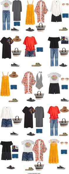 What to Wear in Havana Cuba Packing Light List Outfit Options #packinglist #packinglight #travellight #travel #livelovesara