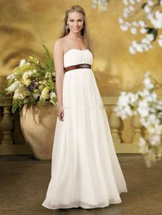 Stunning Wedding Dresses for Pregnant Brides Photo