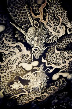 Ceiling paint of Kenninji, Kyoto, Japan