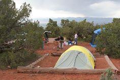 Colorado National Monument, Colorado; Camping by Beneath_B1ue_Skies, via Flickr