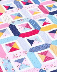 Double Cross pattern by Amy Smart - made by Melanie Collette featuring Pure Delight Fabric