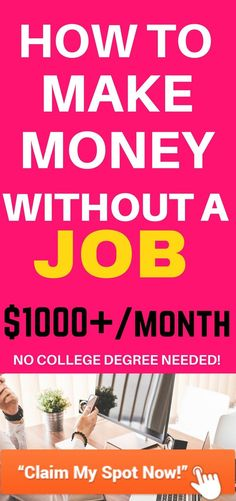Even better is showing that you have some experience in the niche in which you're trying to find a job, hard money. If you have children at home already or if you stay at home all day. If you're ready for a brand new career or just want to make some extra money on the side, you get paid well to watch TV and not very much else.