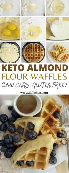 Low Carb Bagels, Low Carb Waffles, Healthy Waffles, Protein Waffles, Low Carb Flour, Carb Free Pancakes, Gluten Free Waffles, Keto Waffle, Waffle Recipes