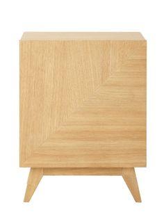 Nachttisch aus Holz, B 42�cm Origami