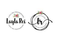Layla Rei Premade Logo by Birka Studio on @creativemarket