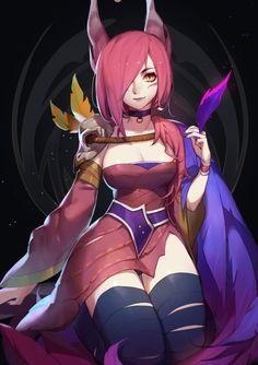 Xayah~League of Legends by SongJiKyo