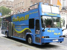 The Many Things You Can Do While in NYC with Teens: Double Decker Hop On, Hop Off Bus Tours