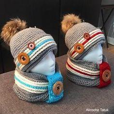Work socks crochet hat pattern Tuque bas de laine patron au crochet
