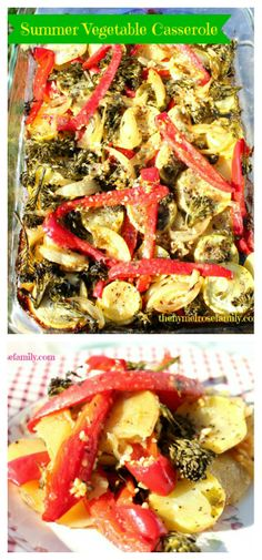 Vegetarian Recipe: Summer Vegetable Casserole