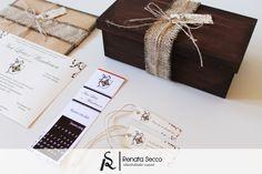 Coleção Rústica: Identidade Visual Casamento. ♥ Orçamentos: contato@renatasecco.com.br