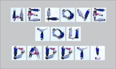 LOVE this Fathers Day gift idea! I think I'll do this for each letter of the alpha and be able to use it for birthdays and other holidays too! Fathers Day Photo, Cool Fathers Day Gifts, Happy Fathers Day, Gifts For Kids, Spelling For Kids, Letters For Kids, Cute Gifts, Unique Gifts, Mother And Father