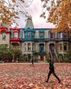 Montreal Ville, Chill, Canada, Decoration, Places To Travel, Street View, Mansions, House Styles, Instagram