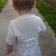 Download Now - CROCHET PATTERN Victorian Shrug - Baby to Adult - Pattern PDF. $5.50, via Etsy.