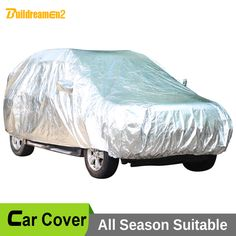 Buildreamen2 Waterproof Car Cover SUV Outdoor Sun UV Dust Rain Snow Hail Protective Scratch Resistant Thicken Cotton Car Cover #Affiliate