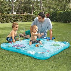 The Li'l Squirt Baby Pool is perfect for little ones not quite ready for a bigger pool!: