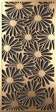 Decorative Metal Screen, Decorative Panels, Paper Cutting Patterns, Stencil Patterns, Fashion Wall Art, Fashion Painting, Metal Sheet Design, Jaali Design, Laser Cut Panels