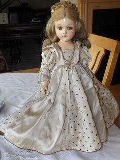 Vintage Madame Alexander Fairy Princess Composition Doll C 1942 | eBay
