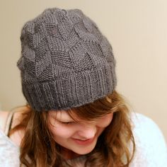 Ravelry: Rhomboid Hat pattern by Megan Elyse Williams
