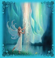Princess fantasy fairy new arrival DIY Crystal full drill square diamond painting cross stitch kit Akiane Kramarik Paintings, Fairies Photos, I Believe In Angels, Angels Among Us, Beautiful Fairies, Glitter Graphics, Guardian Angels, Angel Art, Fairy Art