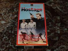 Hostage (VHS, 1987) OOP 1st RCA Sideloader Wings Hauser/Karen Black *NOT ON DVD*