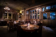 For a touch of the countryside without leaving the convenience of the capital, check out these cosy restaurant interiors, big game dishes and comforting rural flavours...    The Windsor Castle, Kensington With its hanging plants, old-fashioned monochrome front …