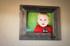 11 X 14 Barnwood Picture Frame 100 Reclaimed by DrakestoneDesigns, $55.00