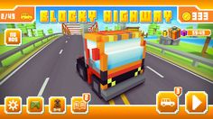 Blocky highway main screen